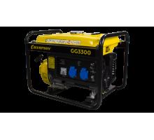 Генератор CHAMPION GG3300 (2,6/3Квт OHV6,5лс 15л 44,96кг 1,4л/ч 12V)