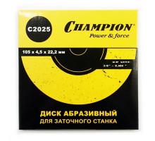 """Диск заточной (3/8"""",0,404"""") 105х4,5х22,2, CHAMPION"""