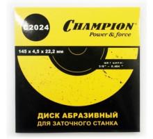 """Диск заточной (3/8"""",0,404"""") 145х4,5х22,2, CHAMPION"""