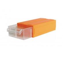 Ящик пластиковый (отд д\электродеталей) 17,5*9*4,6см