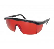 Очки для работы с лазером (красные)