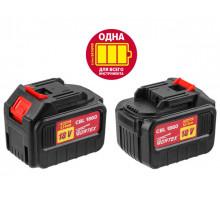 Аккумулятор WORTEX CBL 1860 18.0 B, 6.0 А/ч, Li-Ion ALL1