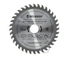 Диск пильный BELMASH 125х22.2/20мм; 36Т