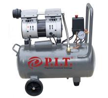 Компрессор PAC 016004-0,6/24 (0,6кВт, 110 л/мин, 24л, 2 цил, 1 вых, пр.привод, безмасл) P.I.T.