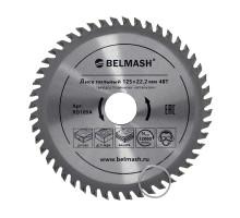 Диск пильный BELMASH 125х22.2/20мм; 48Т